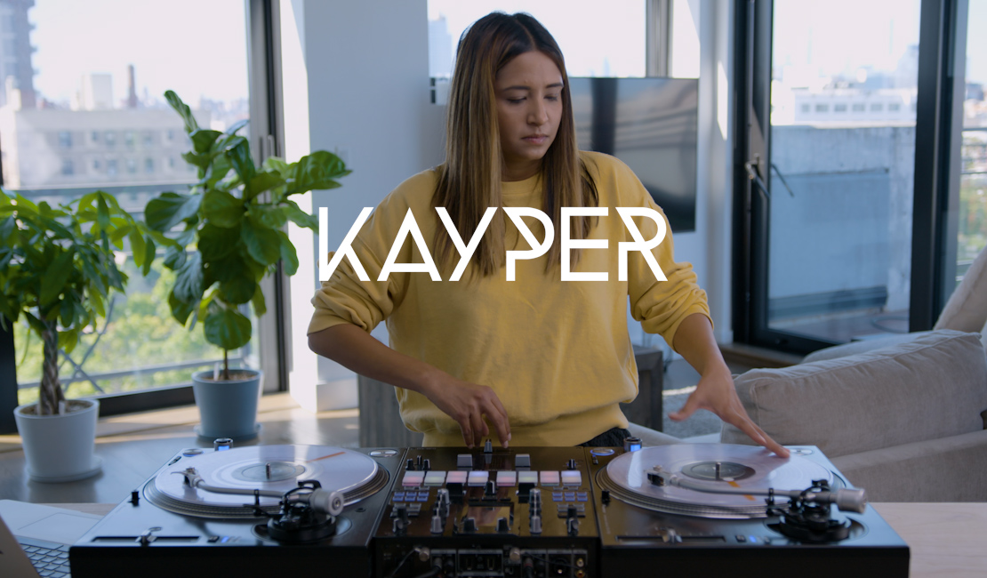 Kayper performance video with DJM-S11