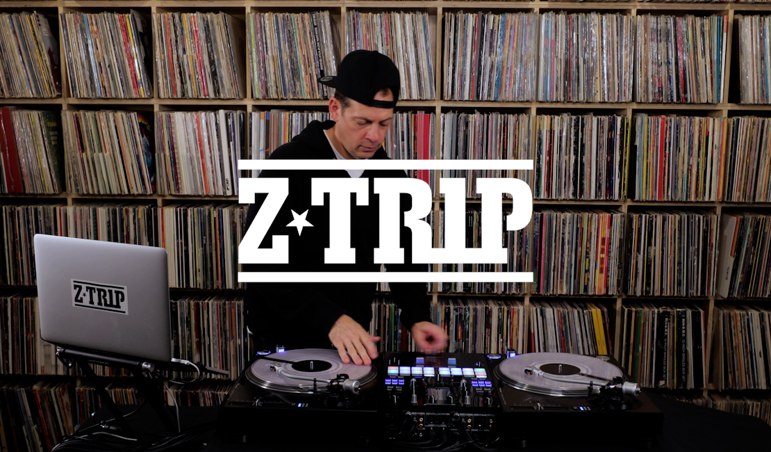 Z-Trip performance video with DJM-S11