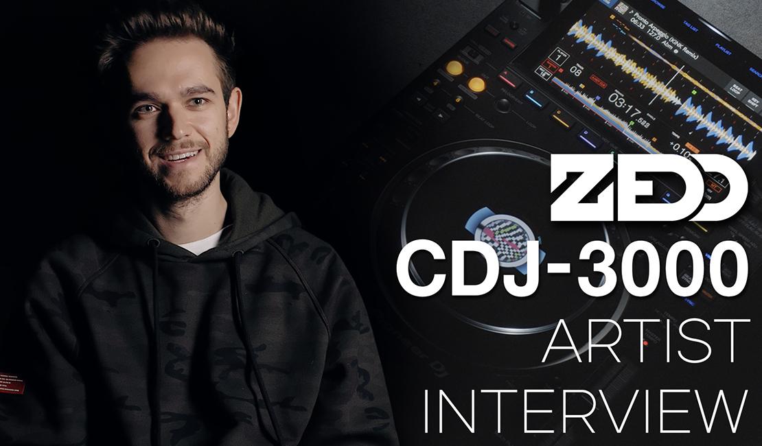 CDJ-3000 Artist Series Zedd