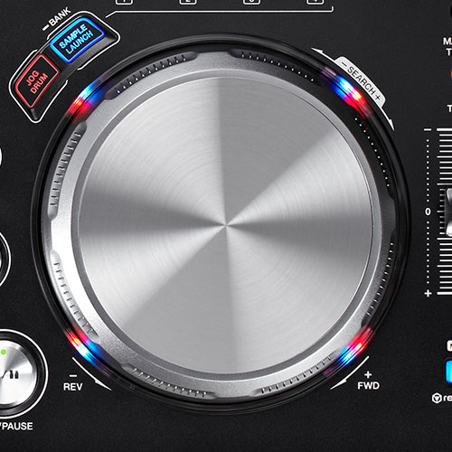 XDJ-AERO Jog wheel