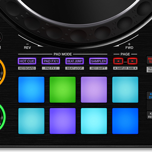 DDJ-1000 Performance Pads