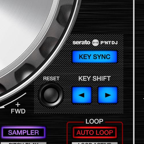 DDJ-SR2 Portable 2-channel controller for Serato DJ Pro (black