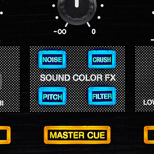 DDJ-RX sound colour FX