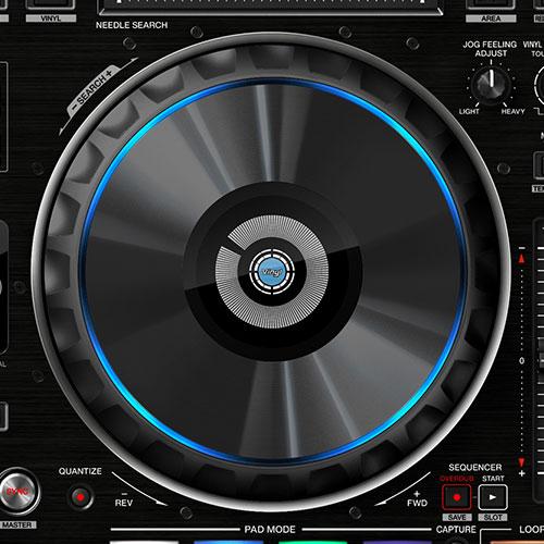 DDJ-RZ jog wheel