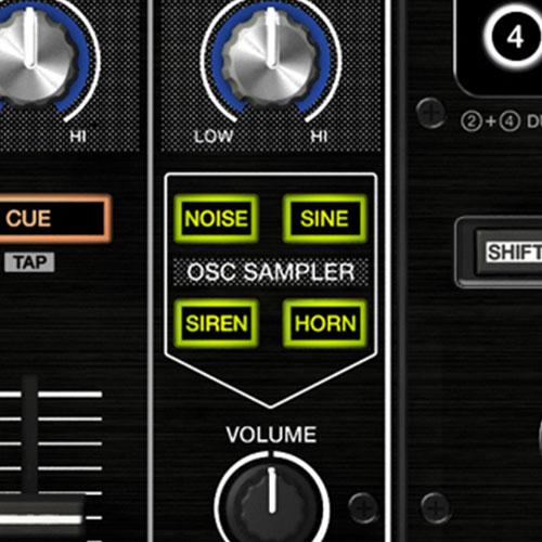 DDJ-RZ oscillator