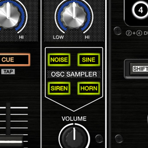 DDJ-RZ OSC sampler