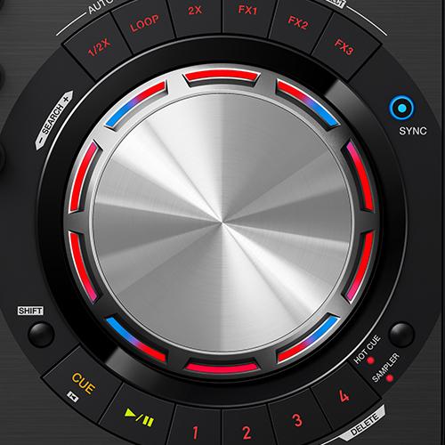 DDJ-WeGO3-K (archived) Compact, entry-level DJ software