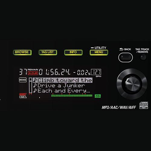 CDJ-850 browse function