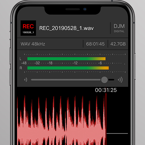 DJM-REC High-quality DJ mix recording app (DJ App) - Pioneer DJ