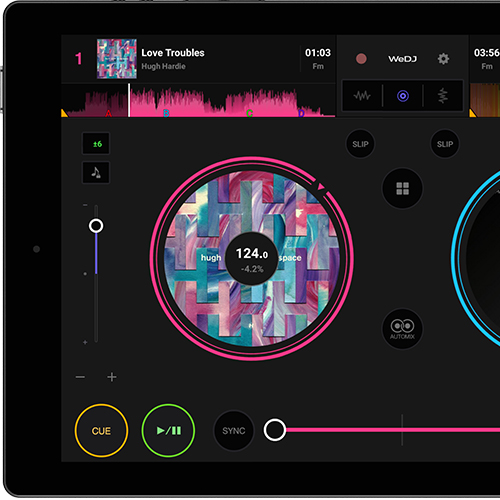 WeDJ for Android Mobile DJ app for Android™ (DJ app