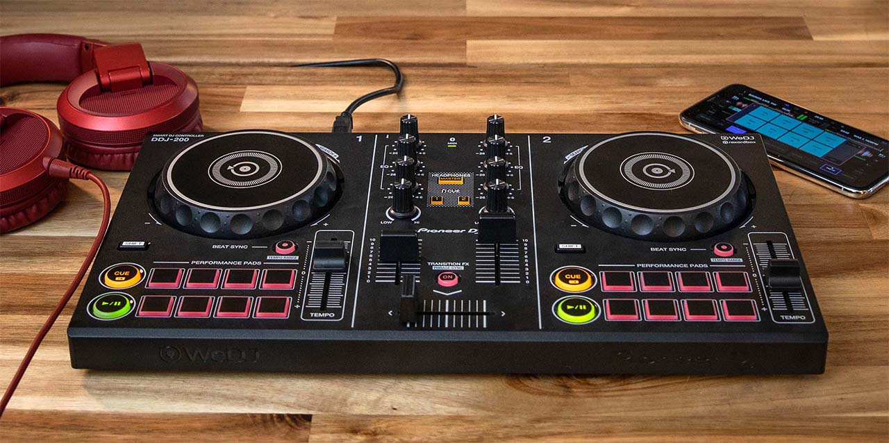 SMART DJ CONTROLLER DDJ-220