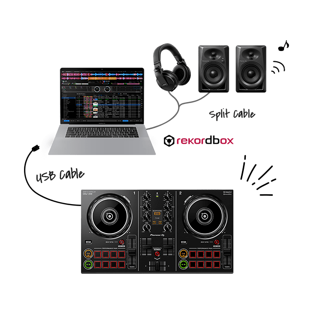 Pro-style setup
