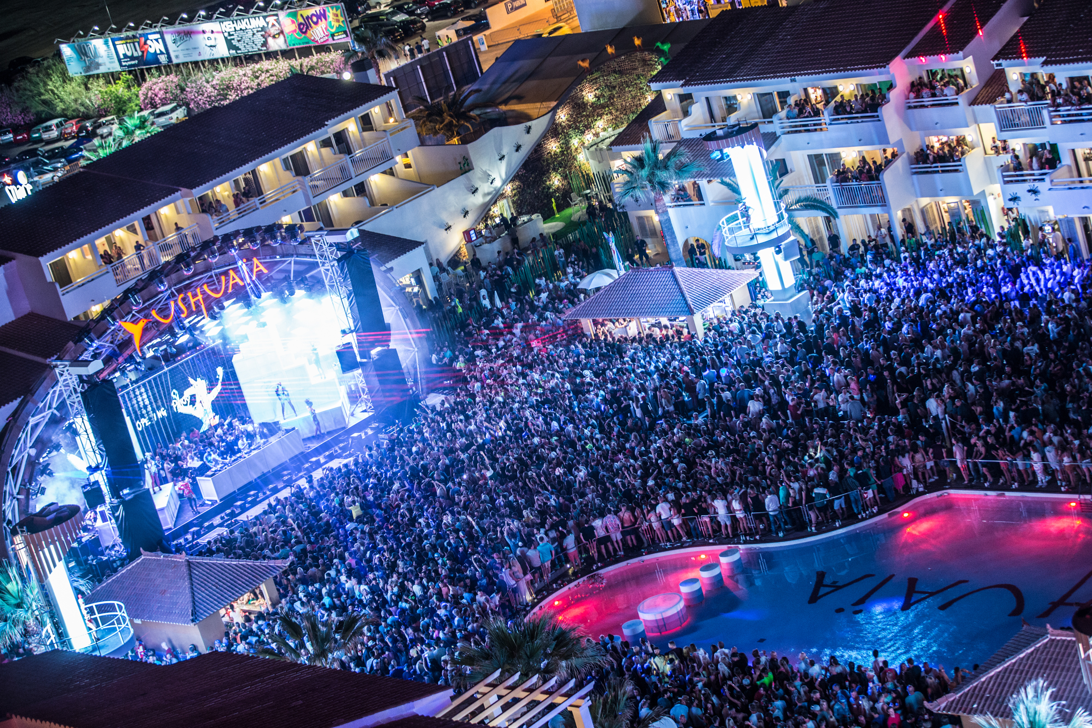 June 2015 - Ushuaia Opening Party - pic1