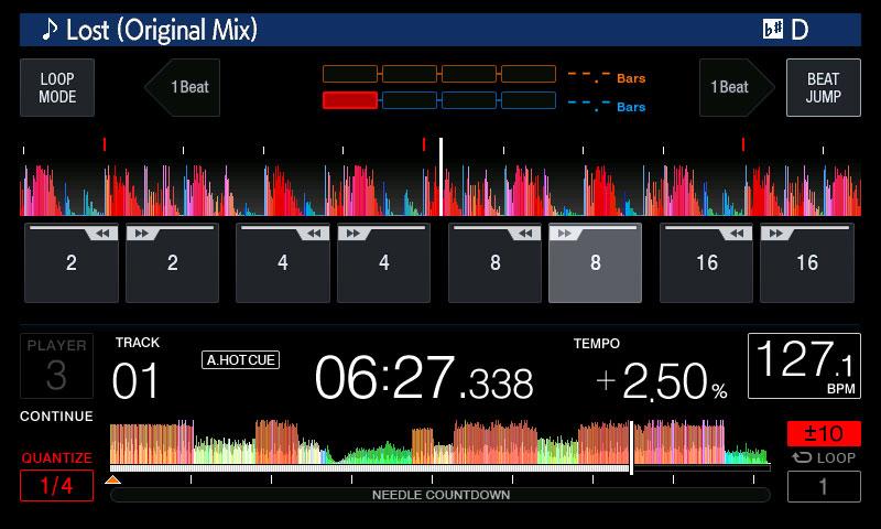 CDJ-2000NXS2 Beat Jump