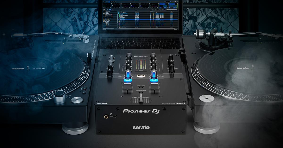 Prepare for battle : Introducing the DJM-S3 mixer, Serato DJ