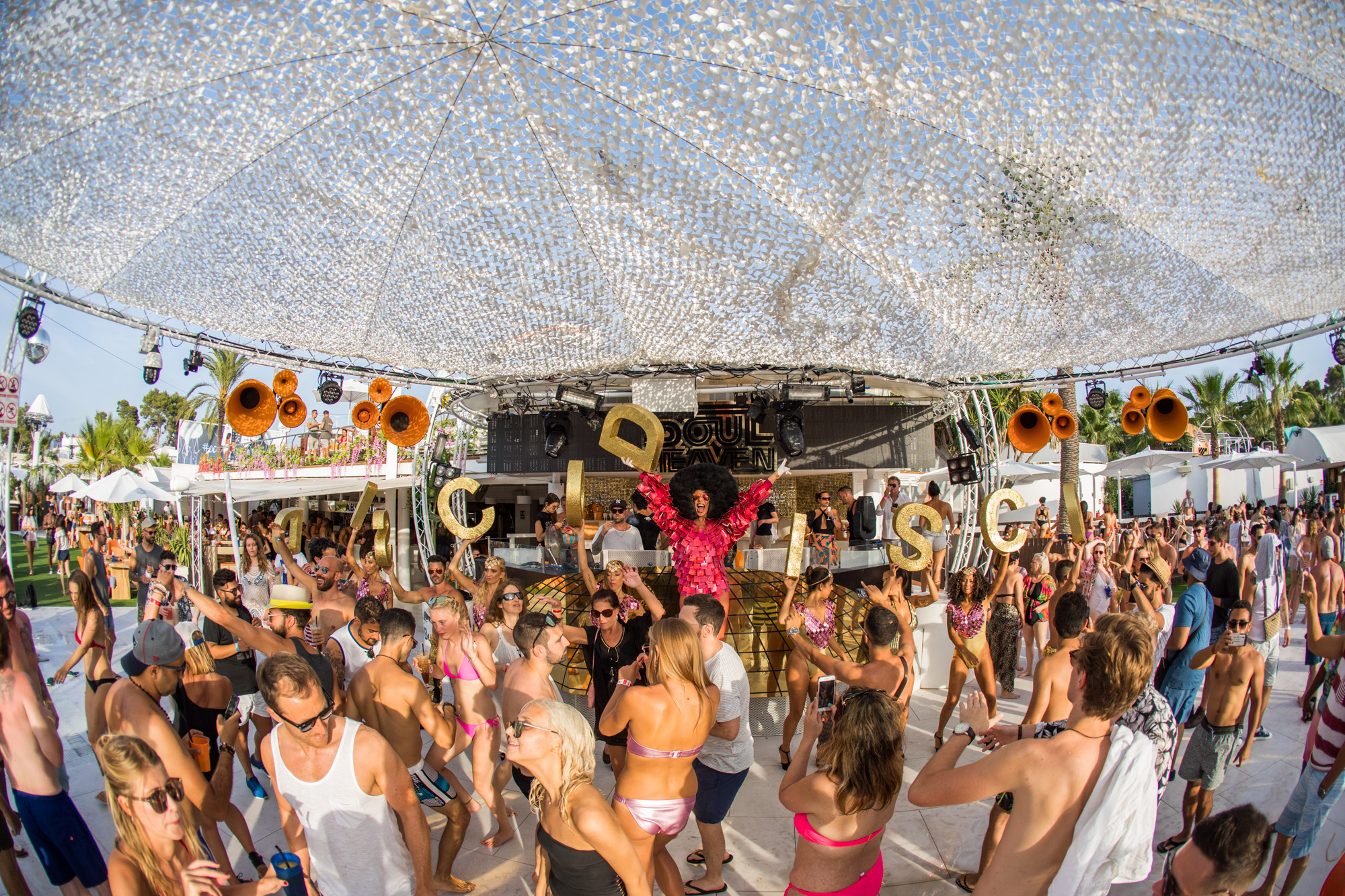 Soul Heaven pool party - Pioneer DJ In Ibiza
