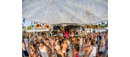 Soul Heaven pool party - Pioneer DJ In Ibiza