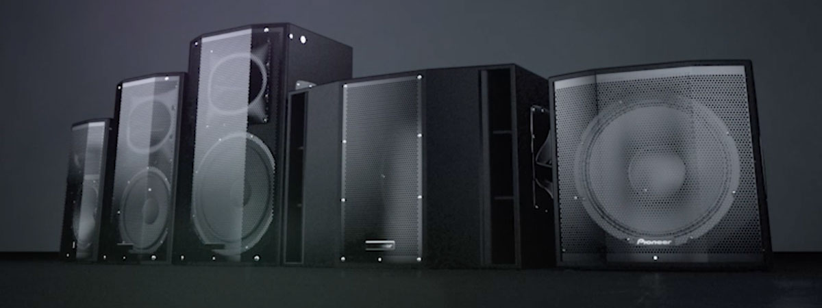 NATURAL EXPRESSION: Pioneer Pro Audio adds two new speakers to the