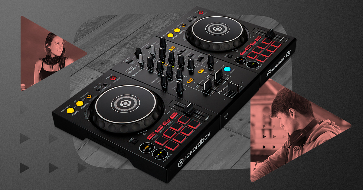 Master the basics: Meet the DDJ-400 controller for rekordbox dj