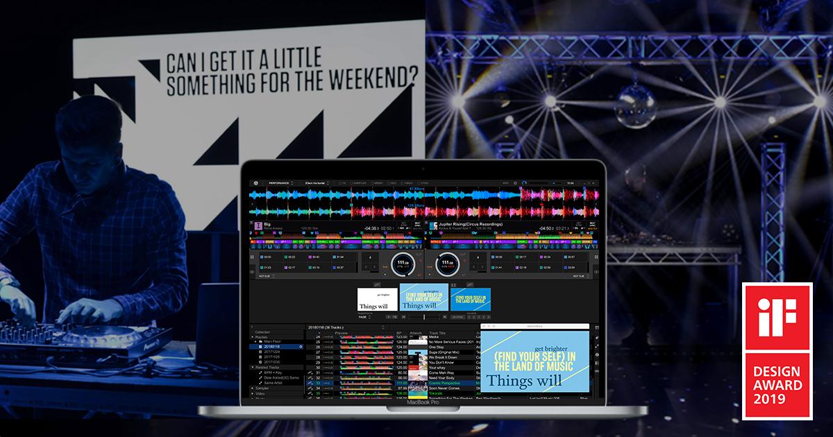 rekordbox™ wins iF DESIGN AWARD 2019 - News - Pioneer DJ News