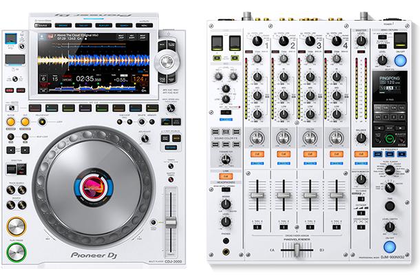 CDJ-3000-W & DJM-900NXS2-W