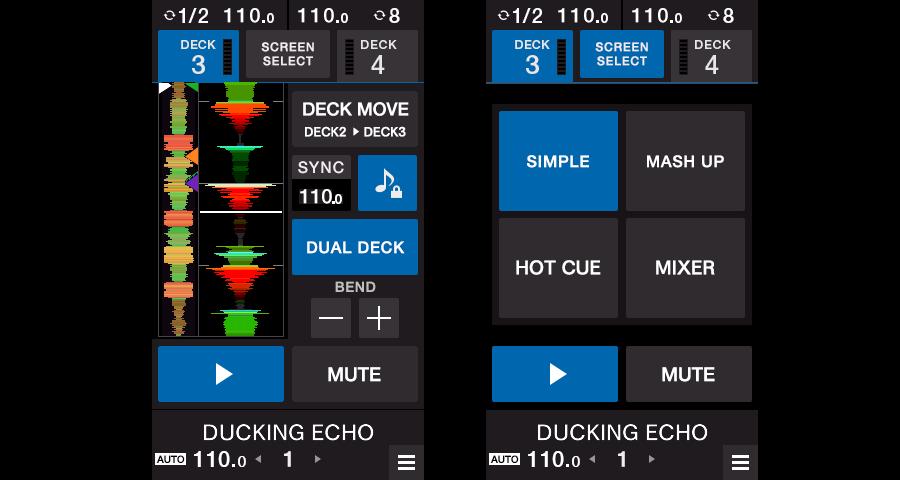 Deck 3/4 Control