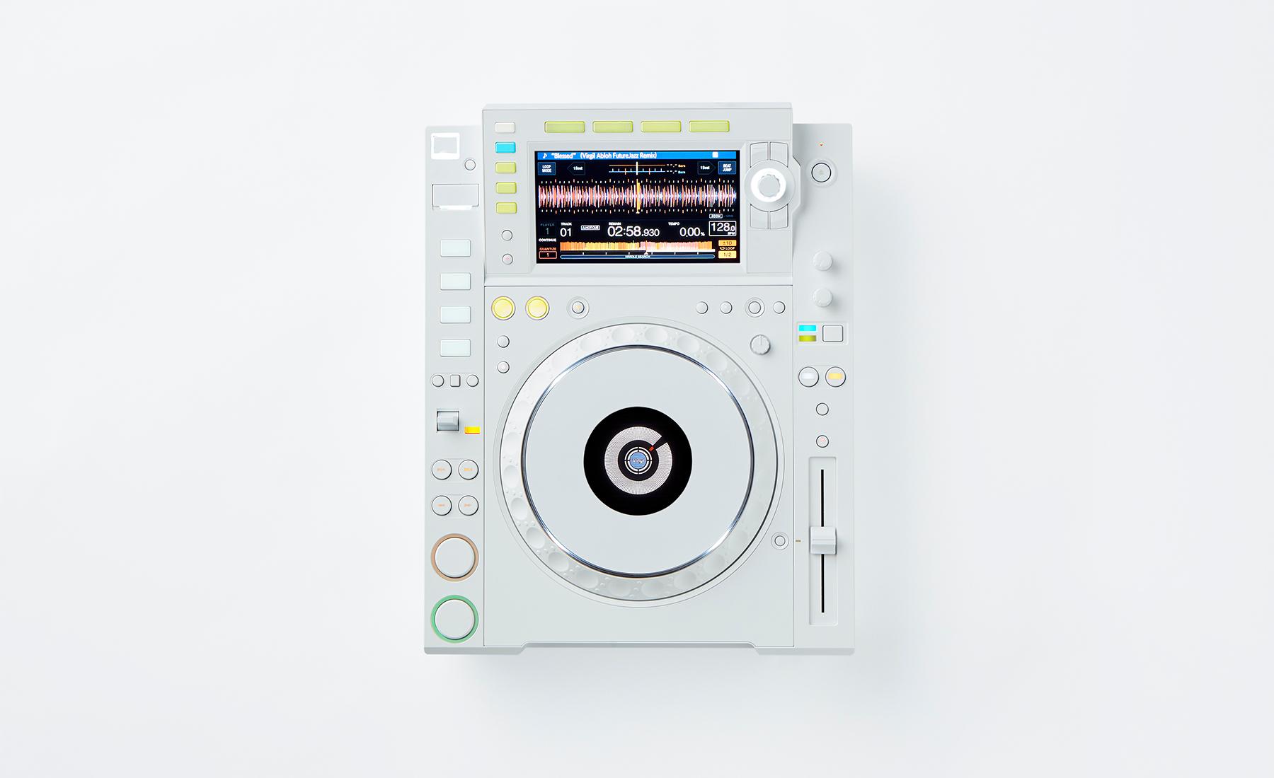 White CDJ-2000NXS2
