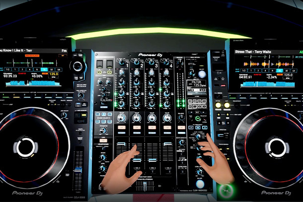 Tribe XR users can use CDJ-3000 and DJM-900NXS2