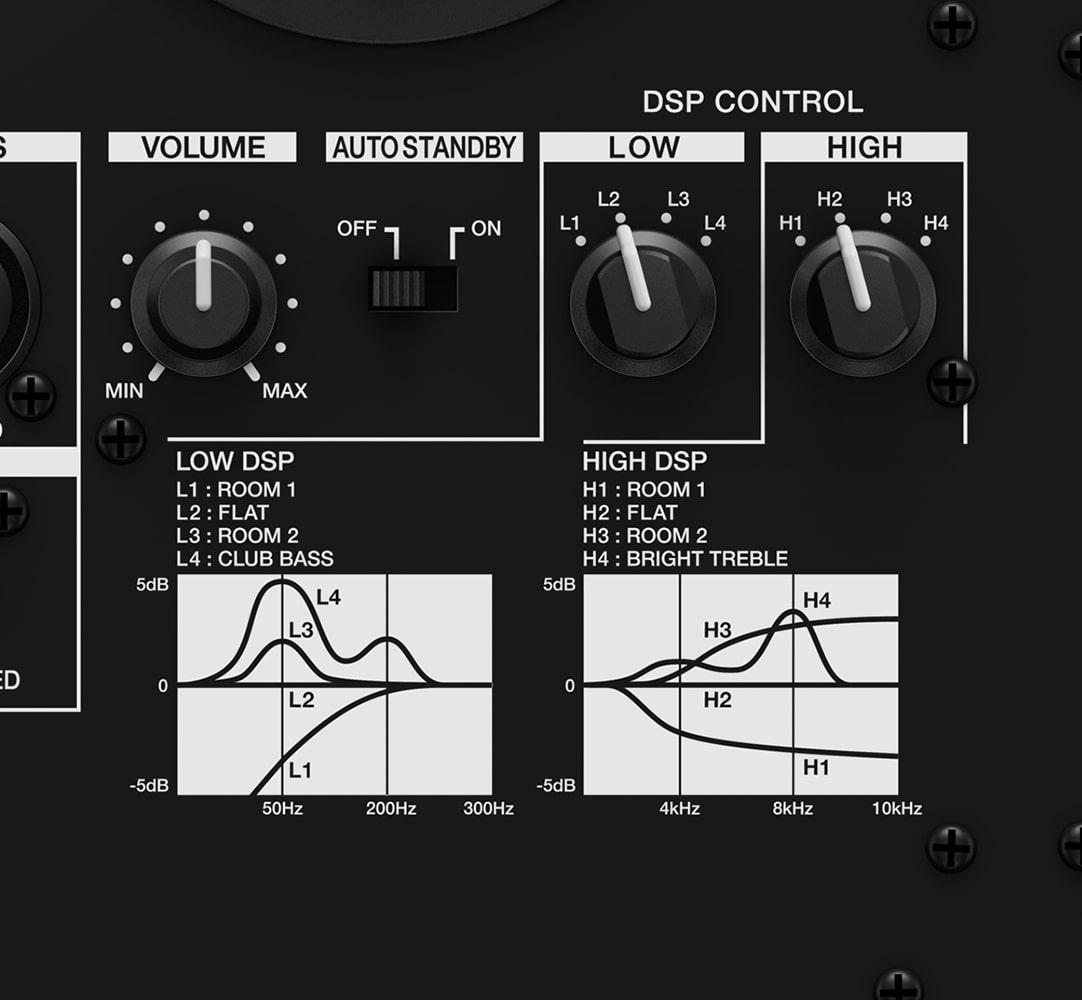 VM Speaker dsp control