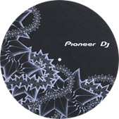 DJ turntable slipmat