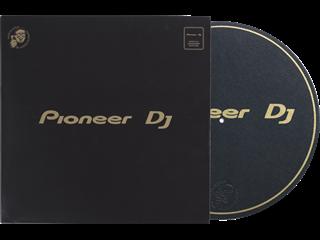 DJ turntable slipmat