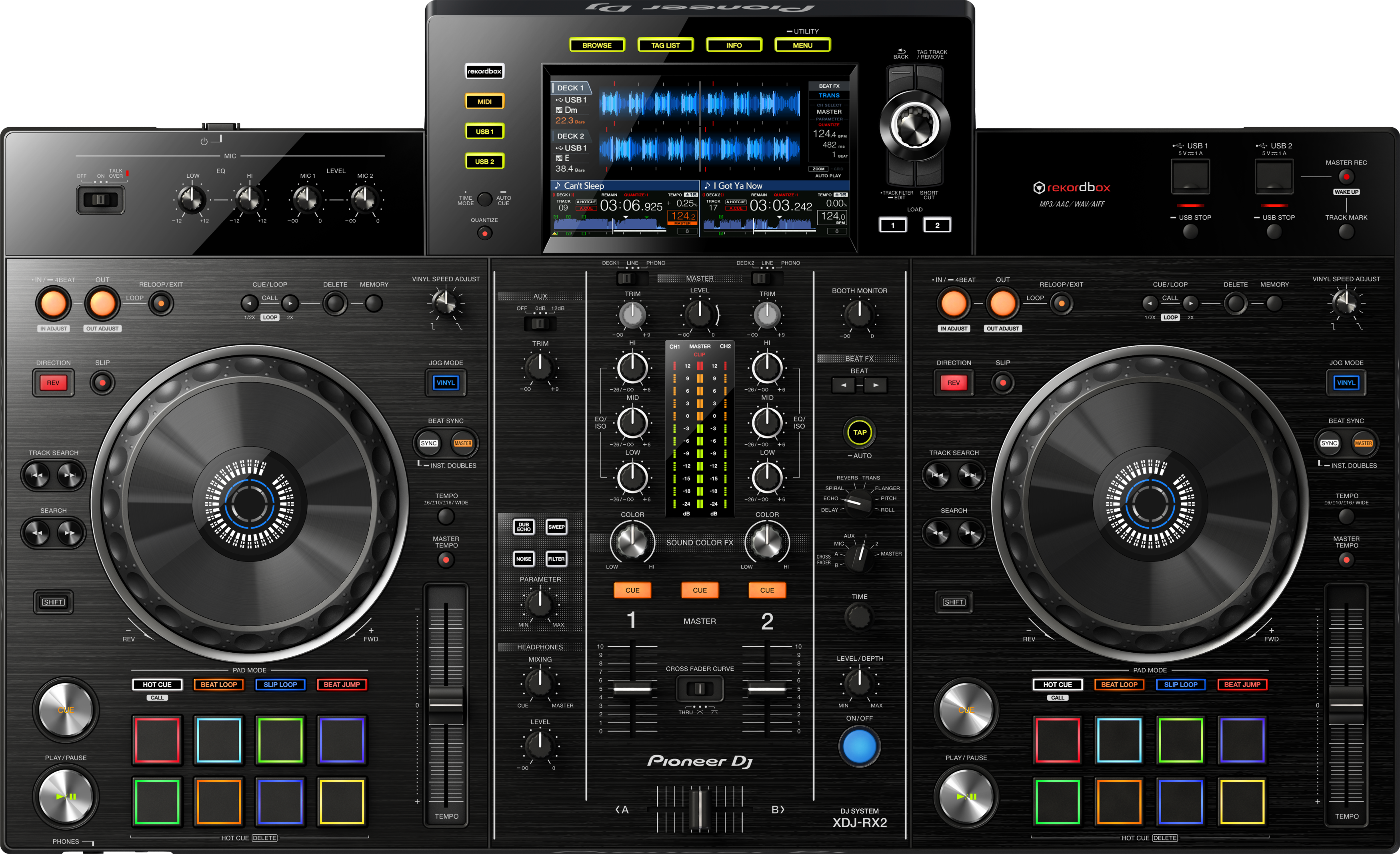 Download firmware or software for XDJ-RX2 - Pioneer DJ - Global