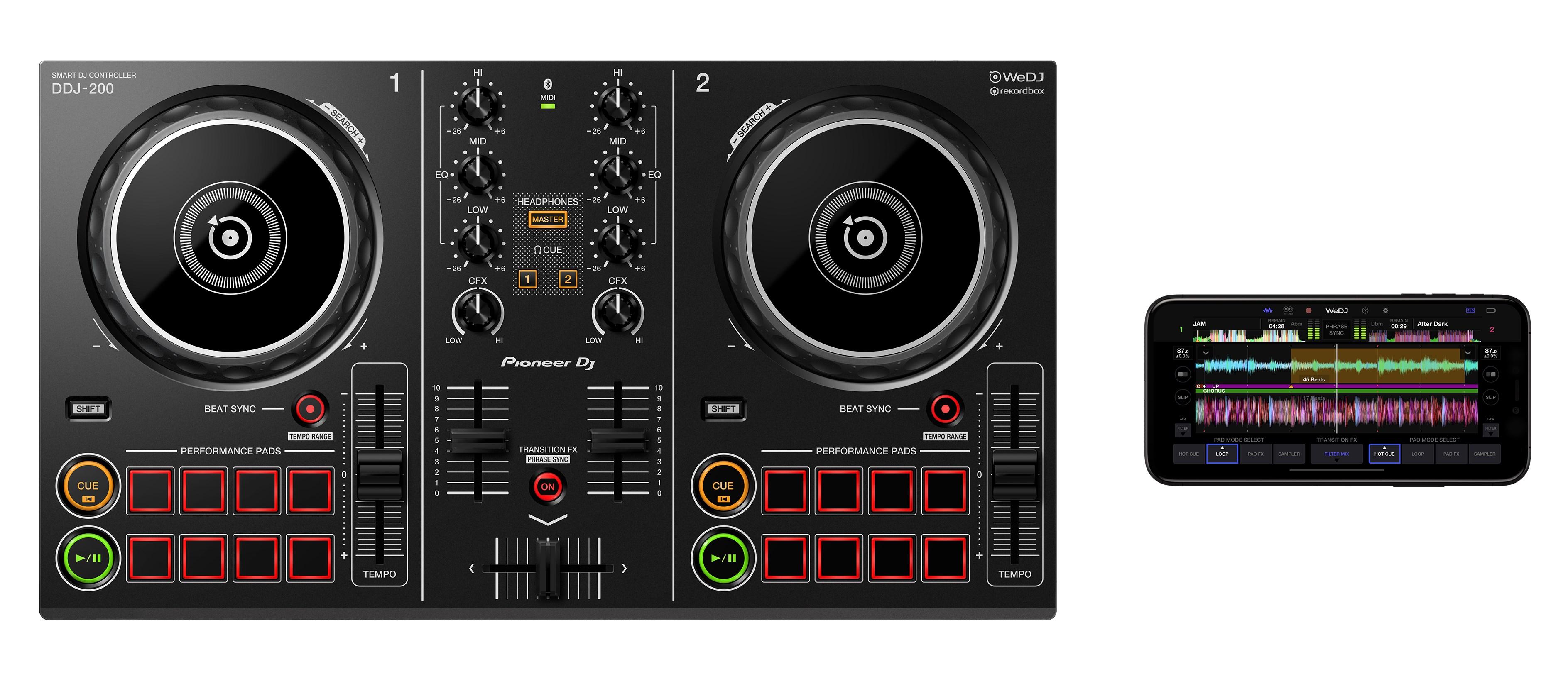 Review: Pioneer DDJ-200: Een slimme DJ controller die streaming voor DJ's eindelijk mogelijk maakt!