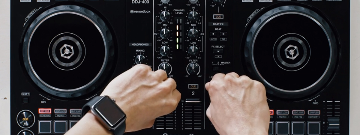DDJ-400 DJ Controller Mixing Technique Tutorials - News