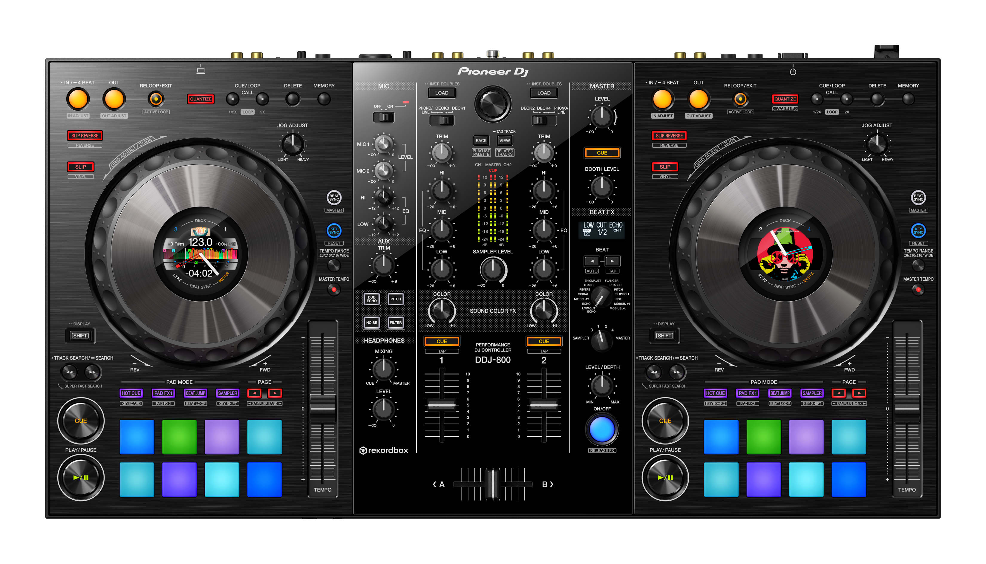 DJ CONSOLE RACK CASE