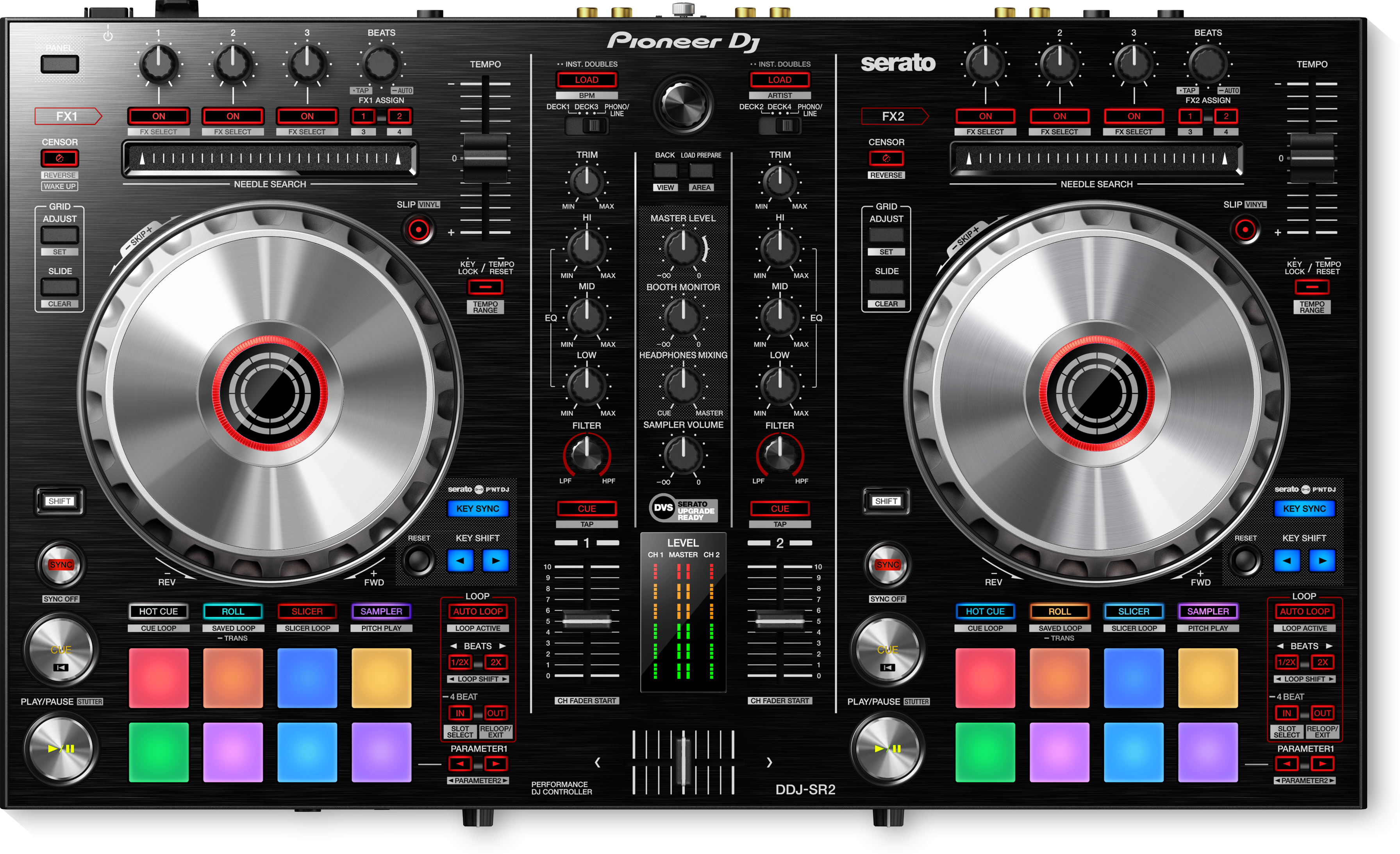 DDJ-SR2 Portable 2-channel controller for Serato DJ Pro