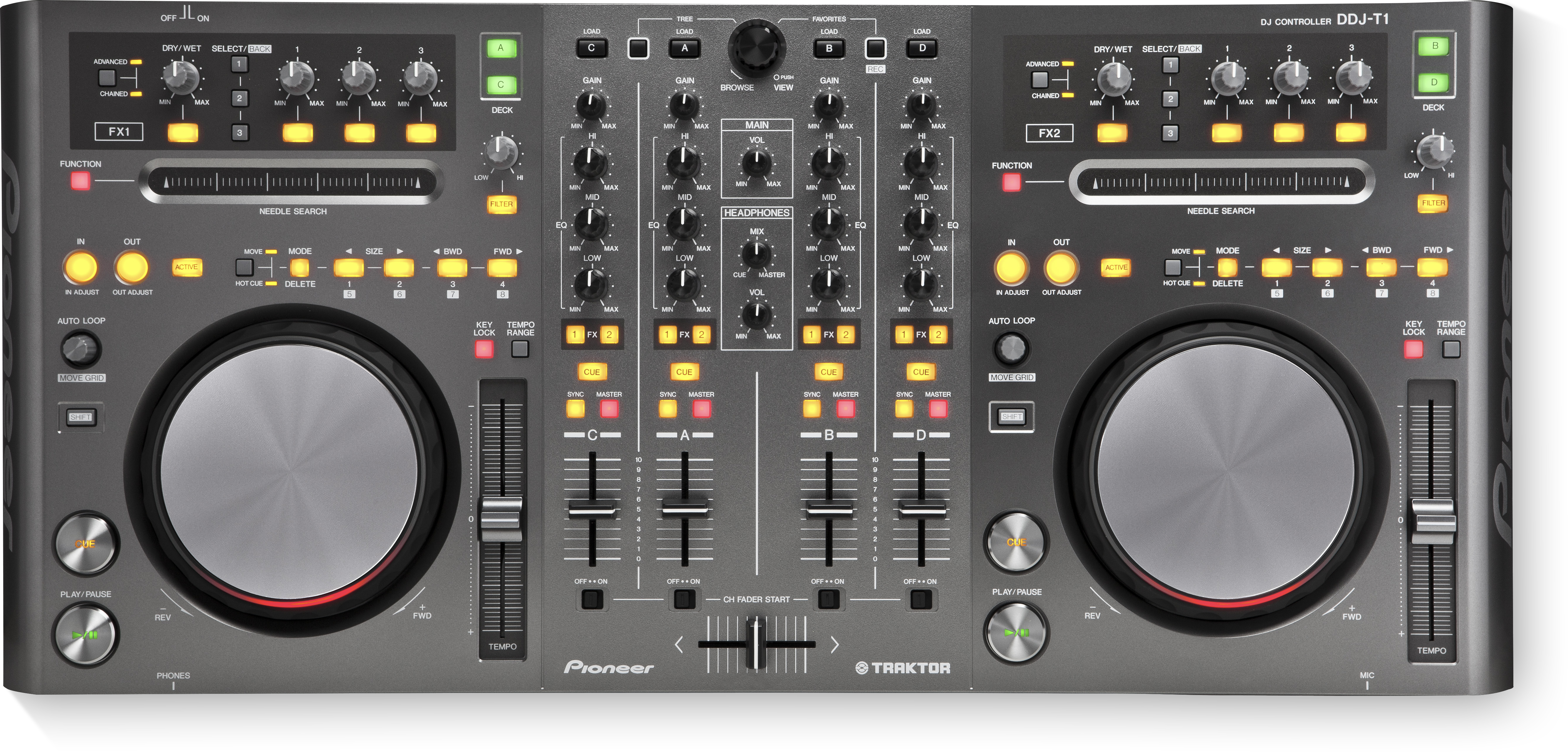 Download firmware or software for DDJ-T1 - Pioneer DJ - Global