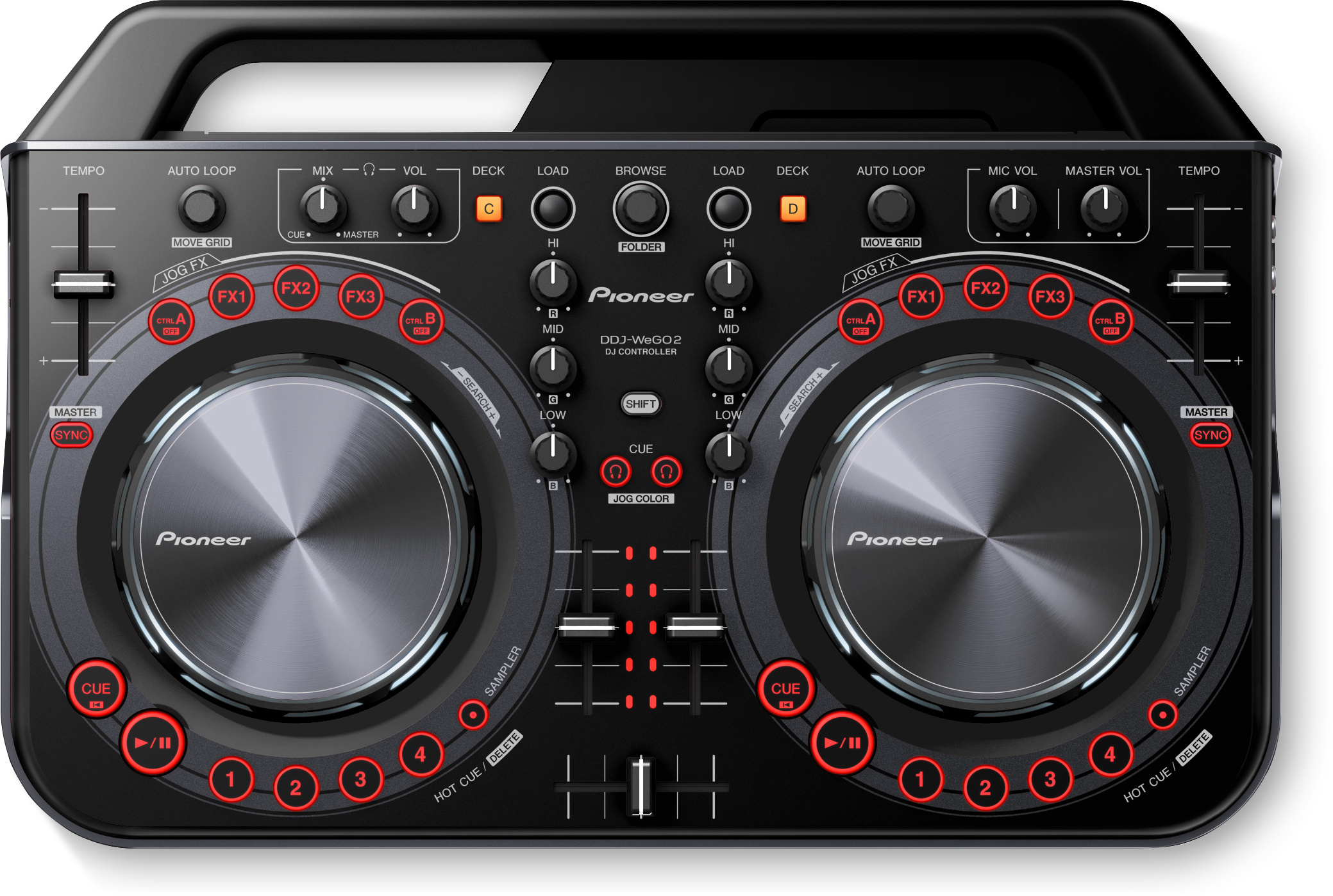 Download firmware or software for DDJ-WeGO2 - Pioneer DJ