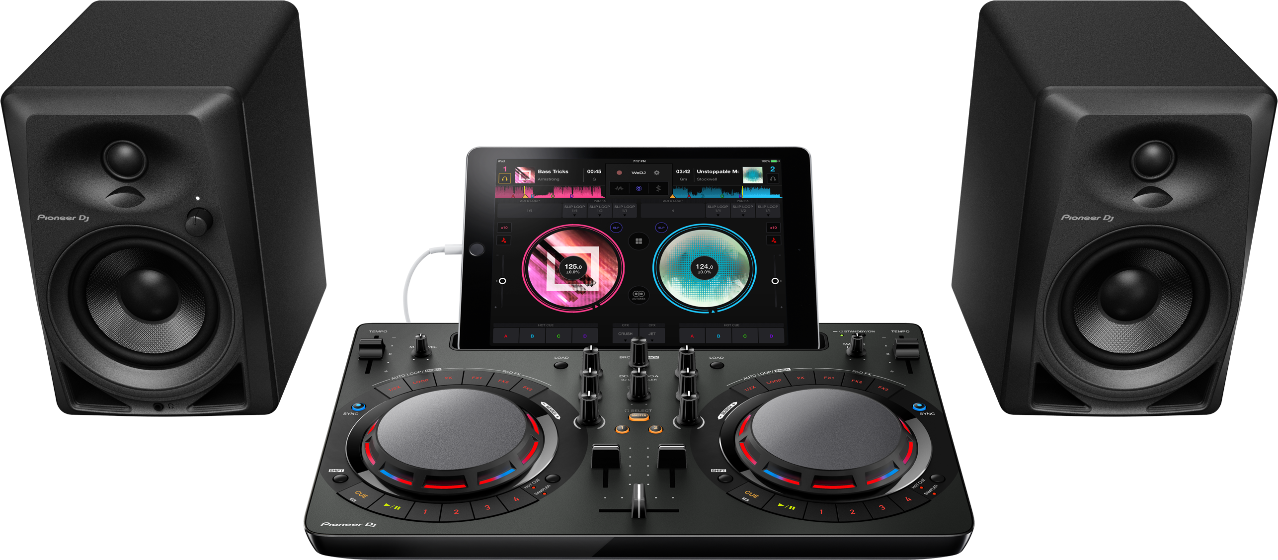 DDJ-WeGO4 - iPad - DM-40