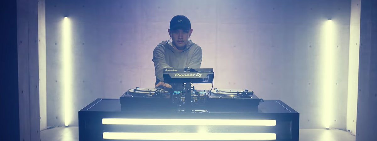 DJ Ren performs using the DDJ-XP1