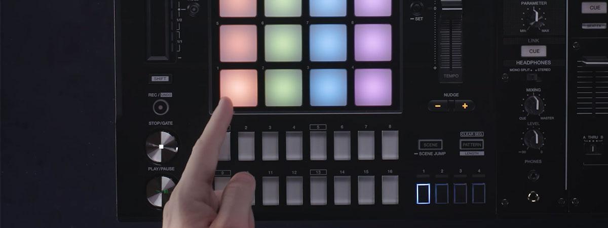 Руководство по работе с DJS-1000 - Ремикширование лупов (Loop Remixing)