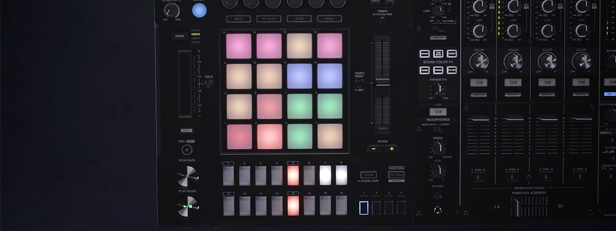 Руководство по работе с DJS-1000 - Создание битов