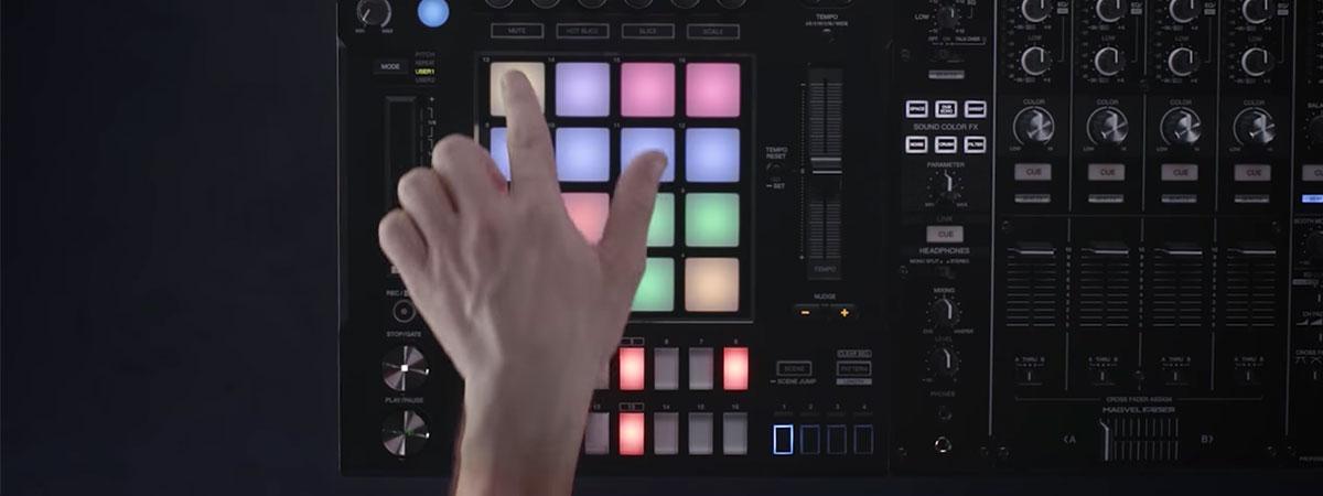 DJS-1000 - pad modes