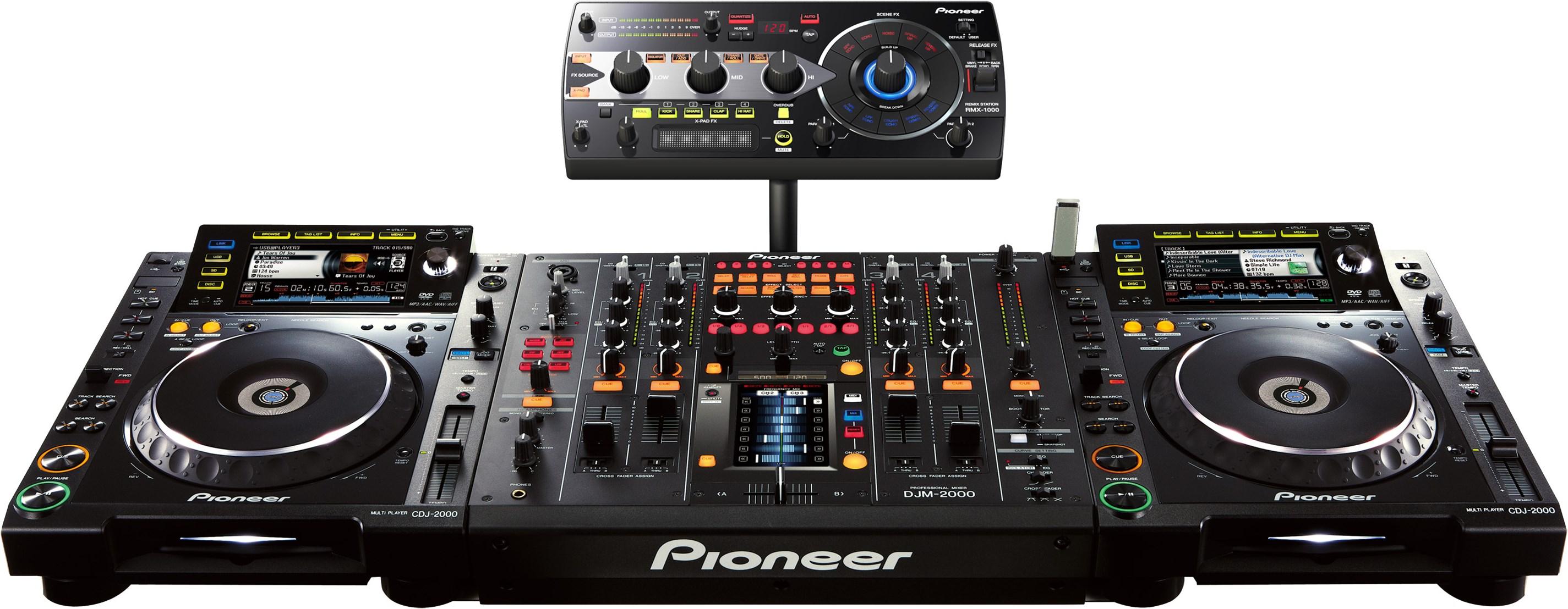 Pioneer DJ DJ Mixer Black RMX-1000 DJ Equipment Musical ...