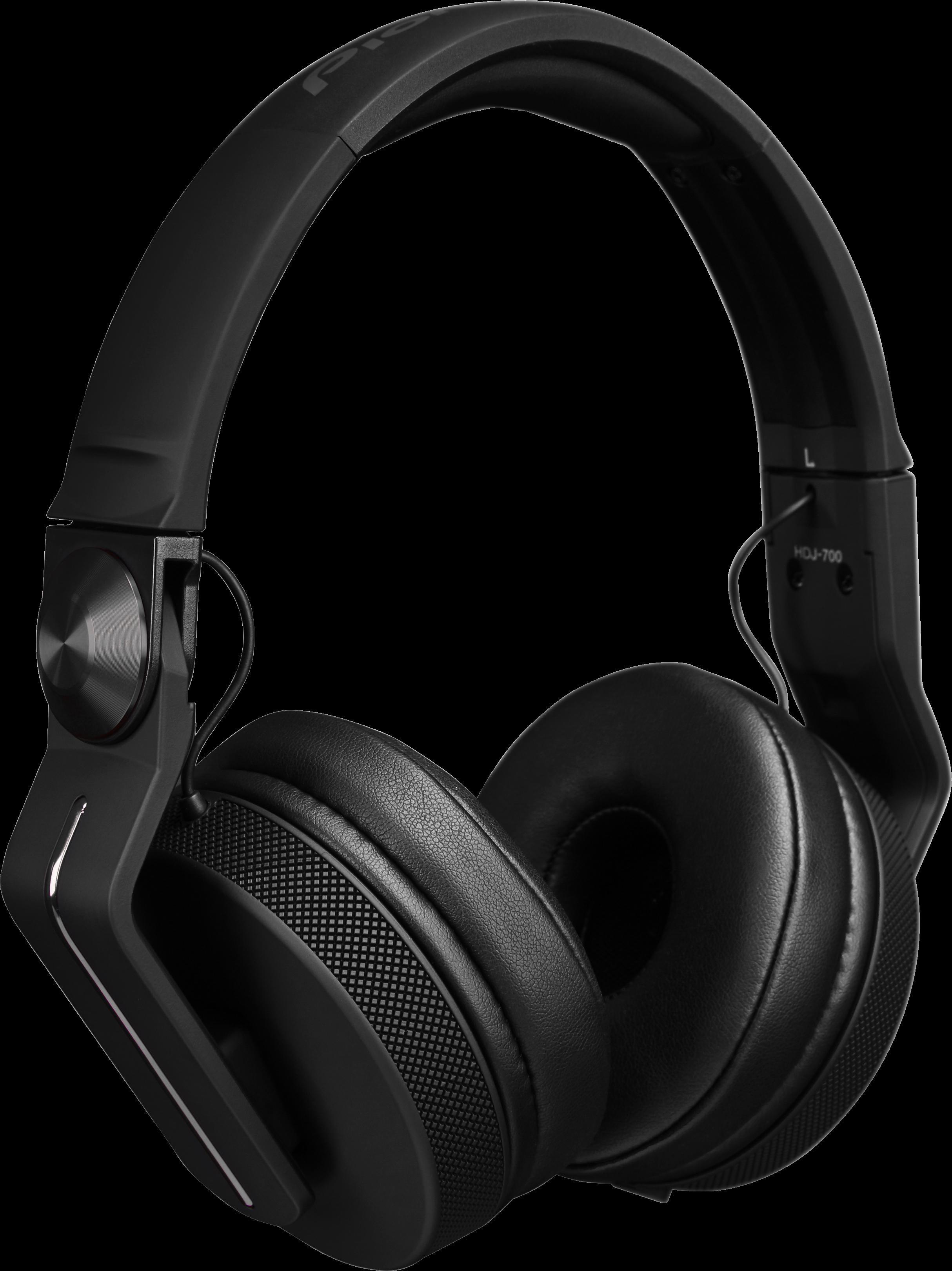 38c91175fce HDJ-700-K DJ headphones (black) - Pioneer DJ