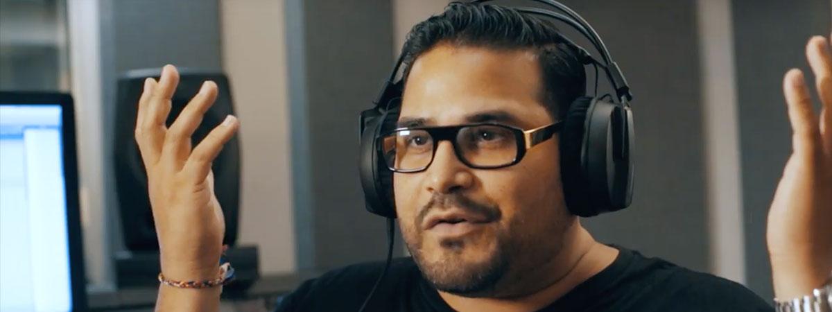Junior Sanchez on the HRM-7 Studio Monitor Headphones