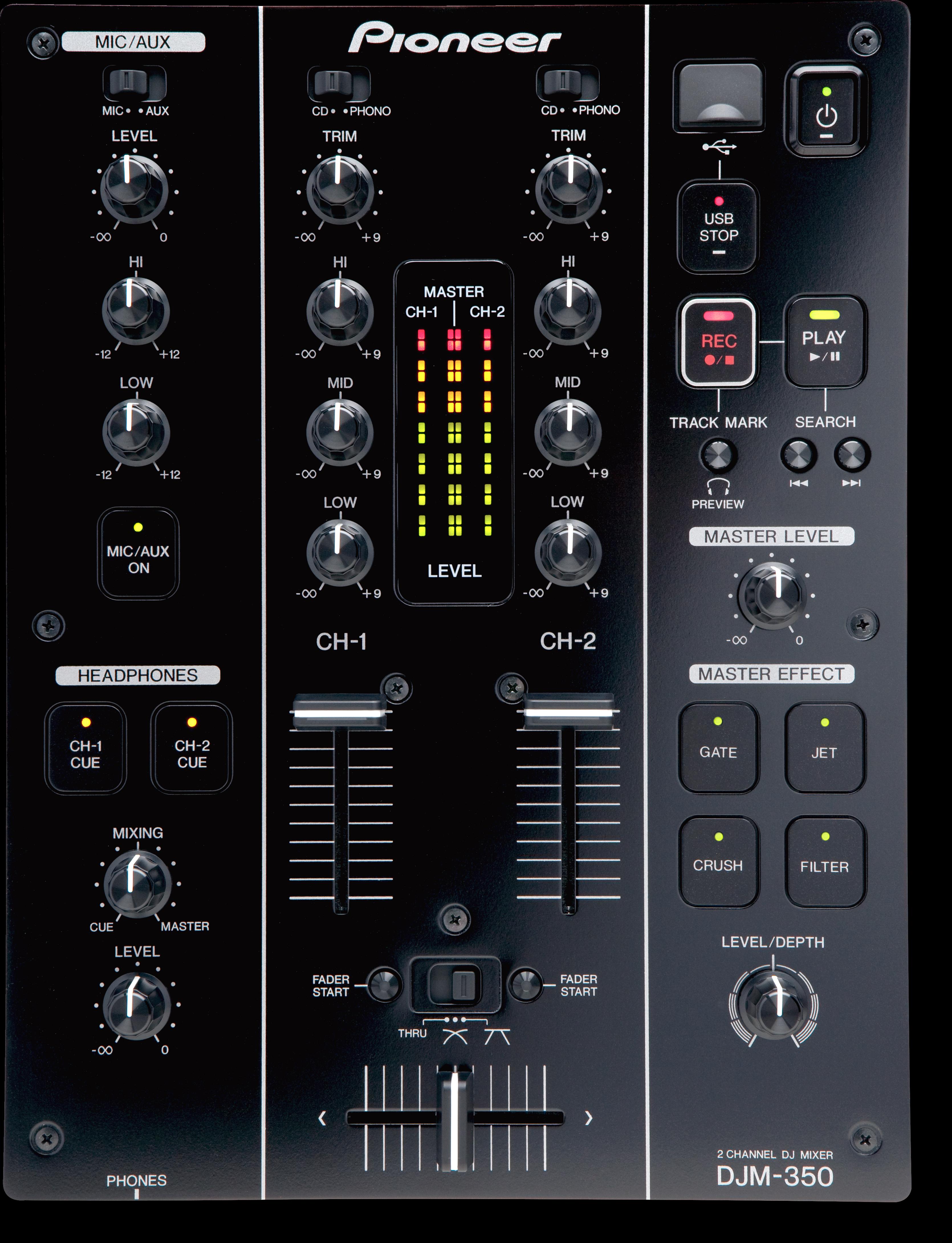 DJM-350 main