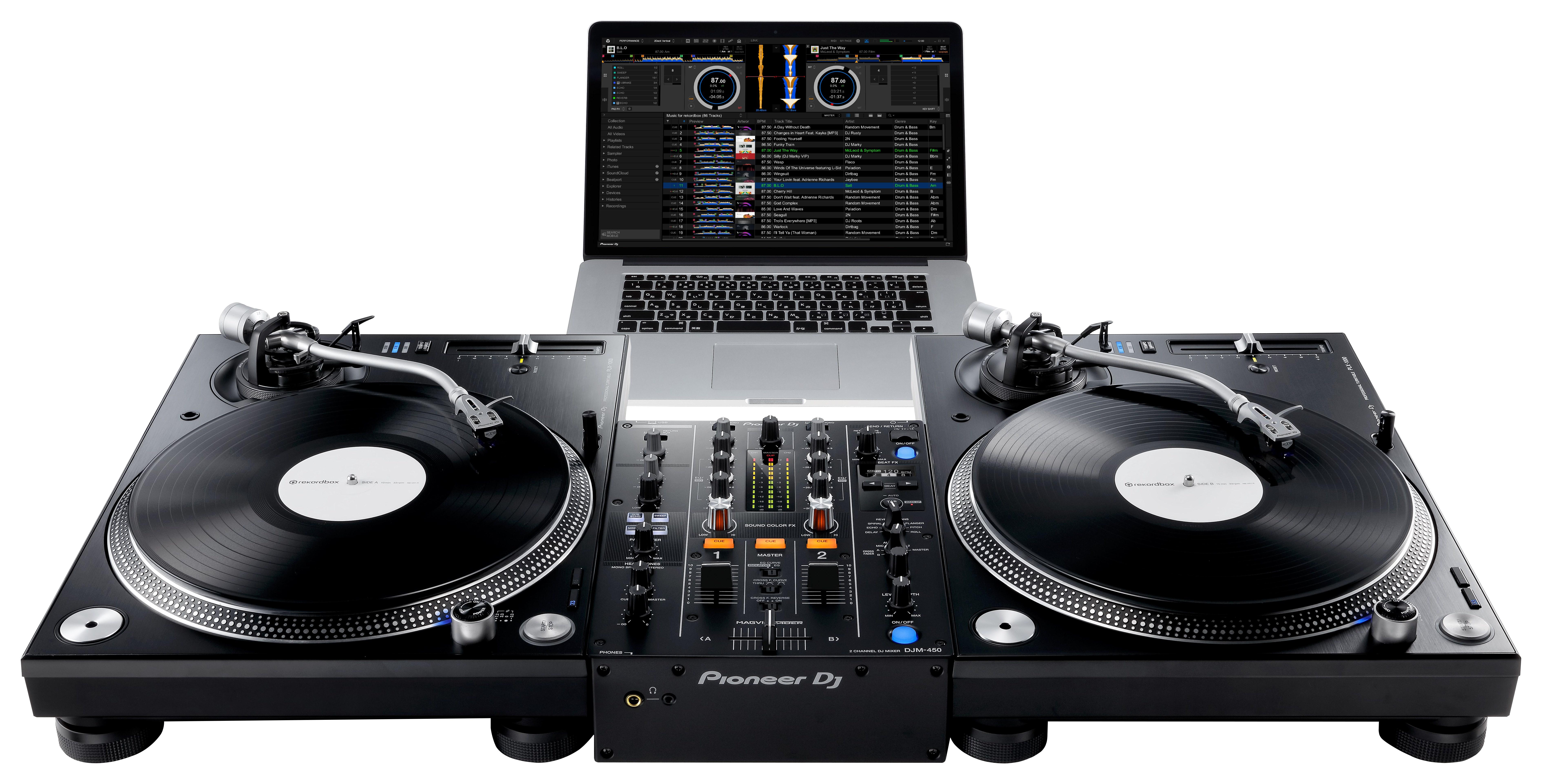 DJM-450 - PLX-1000
