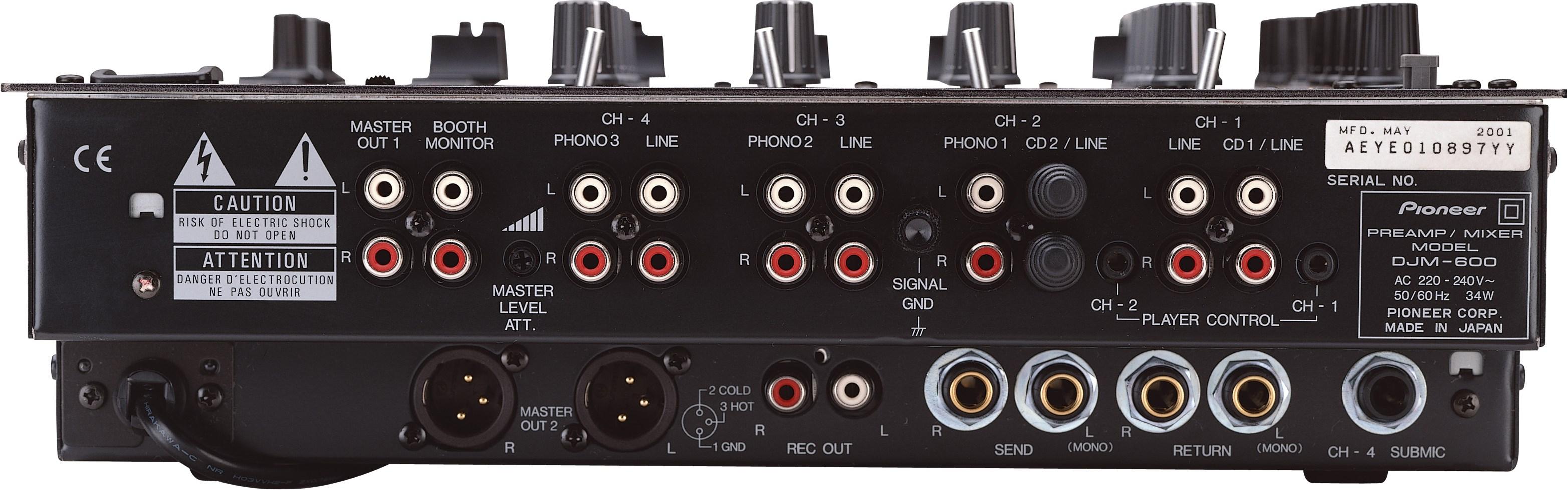 DJM-600 back