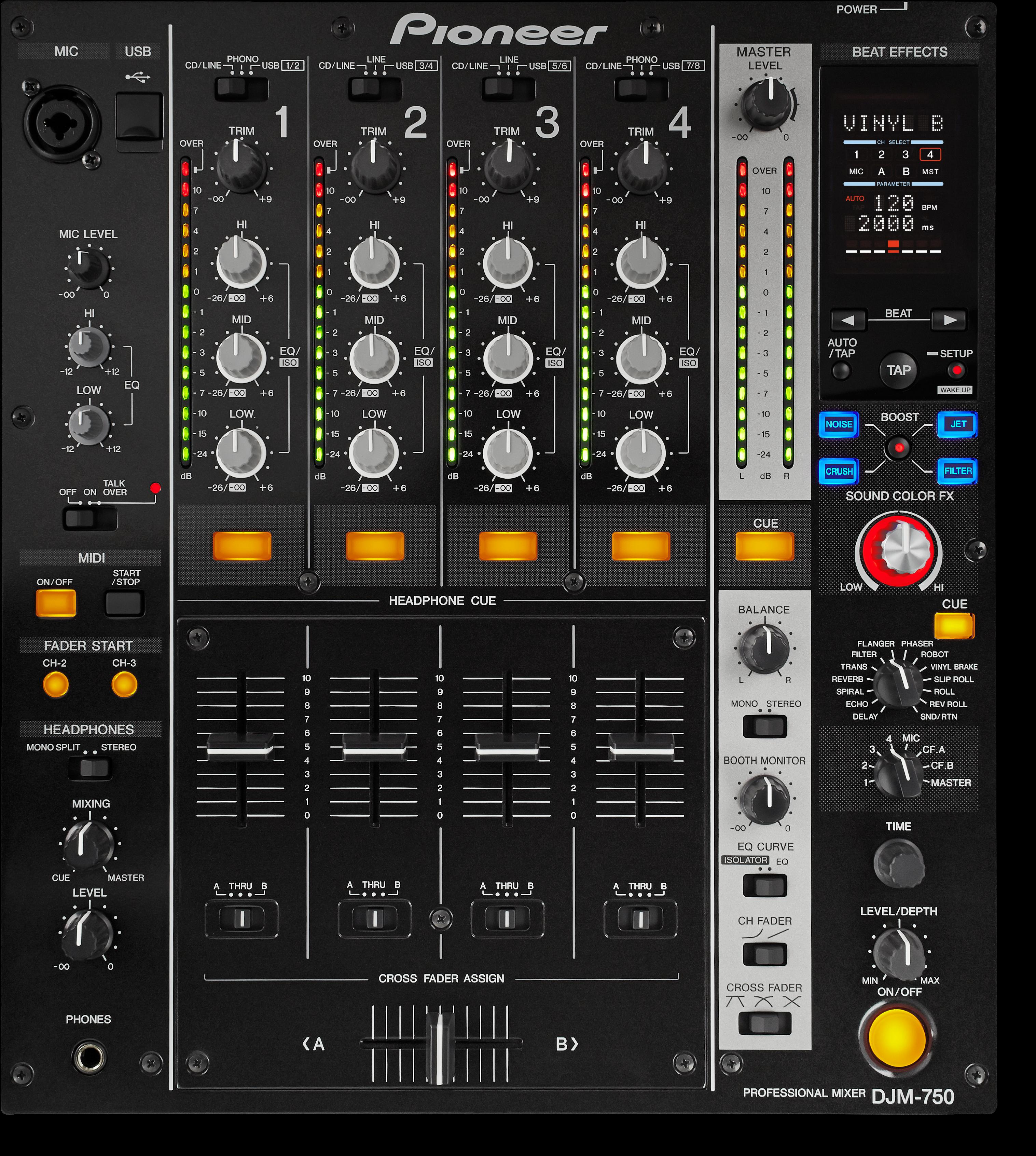 DJM-750 main